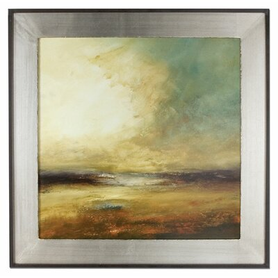 New Land Framed Original Painting by Uttermost