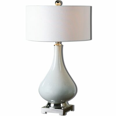 """Uttermost Helton 30"""" H Table Lamp with Drum Shade"""