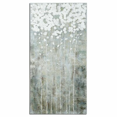 Cotton Florals by Carolyn Kinder Original Painting by Uttermost