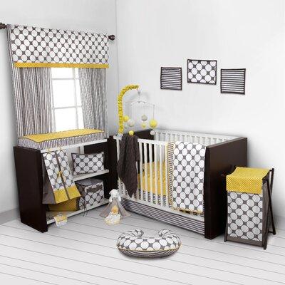 Dots/Pin Stripes 9 Piece Crib Bedding Set by Bacati