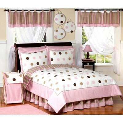 Bacati Mod Dots and Stripes Toddler Bedding Collection