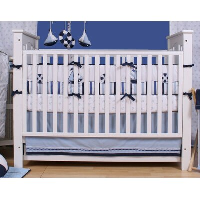 Little Sailor 10 Piece Crib Bedding Set by Bacati
