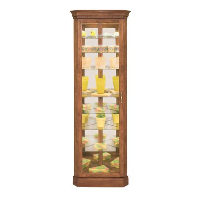 Lighthouse Octave Corner Curio Cabinet by Philip Reinisch Co.