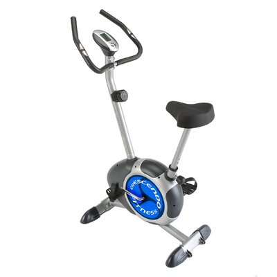 Magnetic Upright Bike by Crescendo Fitness