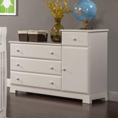 DaVinci 4-Drawer Combo Dresser