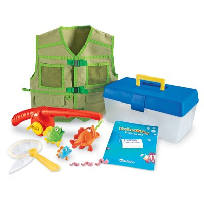 Pretend and Play 11 Piece Fishing Set by Learning Resources