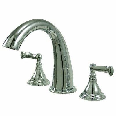 Royale Double Handle Deck Mount Roman Tub Faucet Trim French Lever Handle Product Photo