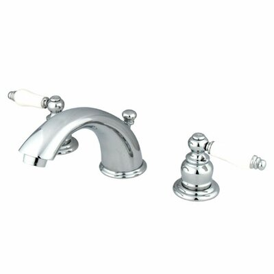 Magellan Widespread Bathroom Faucet with Double Porcelain Lever Handles Product Photo