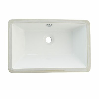 Castillo Undermount Bathroom Sink Product Photo