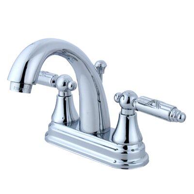 Elements of Design Elizabeth Centerset Bathroom Faucet with Double Georgian Lever Handles