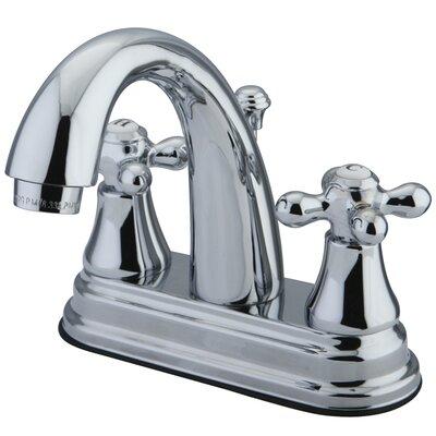 Elements of Design Elizabeth Centerset Bathroom Faucet with Double Cross Handles