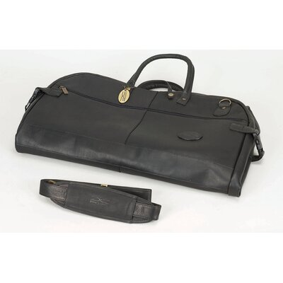 Leather Briefcase by Claire Chase
