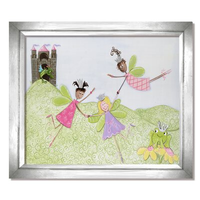 Fairy Friends Princess Picnic Framed Art by Doodlefish