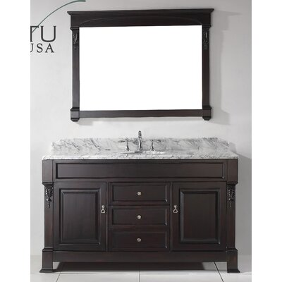 Huntshire 59 Single Bathroom Vanity Set With Mirror Product Photo