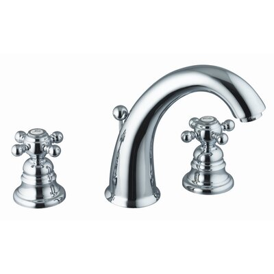 Fima by Nameeks Elizabeth Widespread Bathroom Sink Faucet with Double Cross Handles
