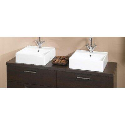 Aurora 61 Wooden Bathroom Vanity Top Wayfair