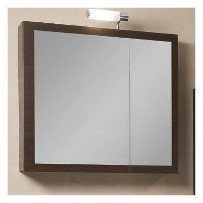 "Luna 30.9"" x 27.7"" Surface Mounted Medicine Cabinet Product Photo"