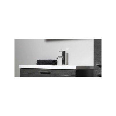 """Iotti by Nameeks Luna 39"""" Fitted Ceramic Vanity Top"""