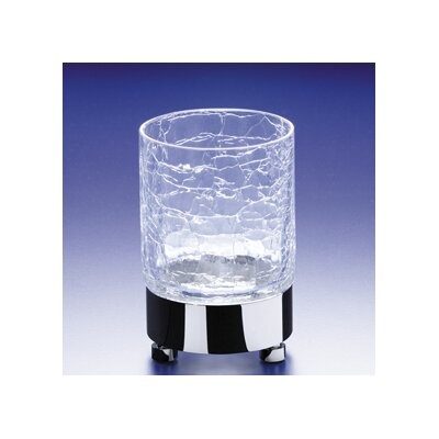 Crackled Glass Tumbler by Windisch by Nameeks