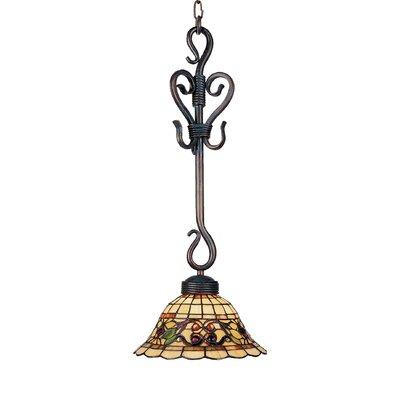 Buckingham 1 Light Mini Pendant by Landmark Lighting