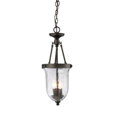 Landmark Lighting Yorkville 3 Light Outdoor Hanging Lantern