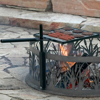 P & D Metal Works Campfire Cooking Grill