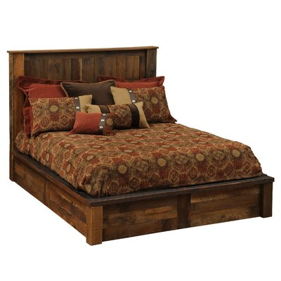 Barnwood Panel Bed by Fireside Lodge