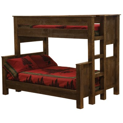 Frontier Standard Bunk Bed with Left Ladder by Fireside Lodge