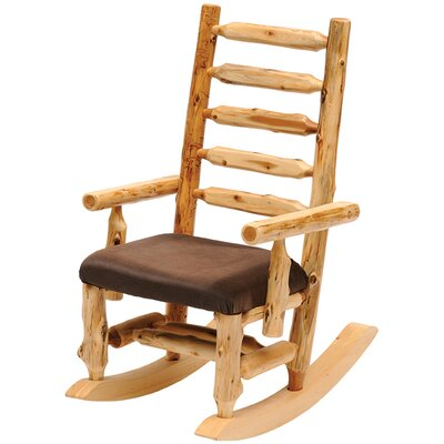 Fireside Lodge Cedar Rocking Chair