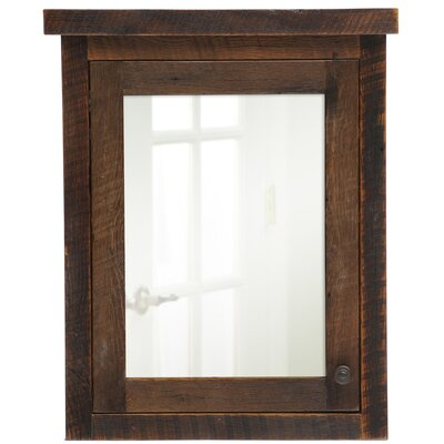 "32"" x 32"" Barnwood Medicine Cabinet Product Photo"