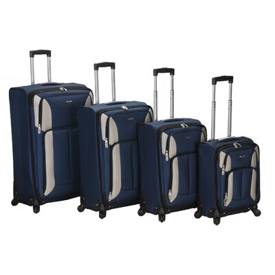 Impact 4 Piece Spinner Luggage Set by Rockland