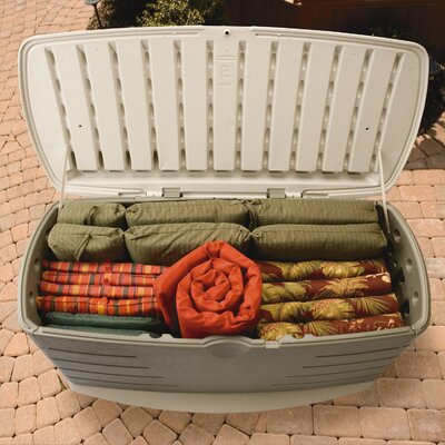 Rubbermaid 90 gallon deck box ebay