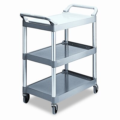 Rubbermaid Commercial Economy Plastic Cart