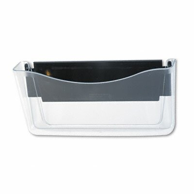 Rubbermaid Unbreakable Magnetic Wall File, A4/Letter, Clear