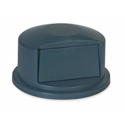 Rubbermaid Brute Dome-shaped Tops, Gray