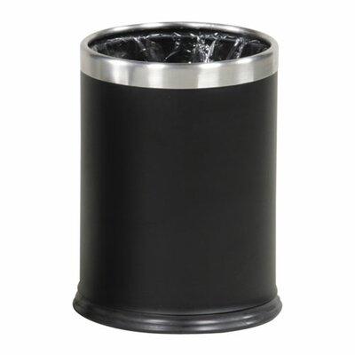 Rubbermaid Hide-A-Bag Wastebasket, Black