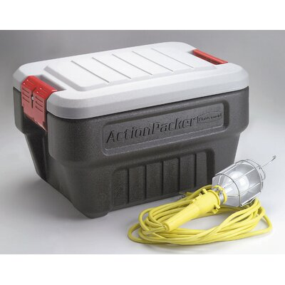 Rubbermaid Mini Action Packer Storage Container