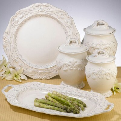 Firenze Ivory Dinnerware Collection by Certified International