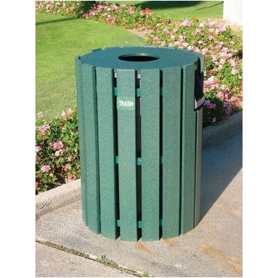 44-Gal Trash Receptacle by Eagle One