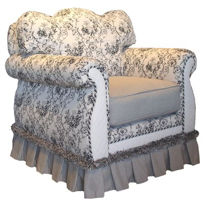 Toile Black Adult Empire Glider Rocker by Angel Song