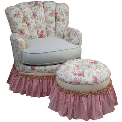 English Bouquet Adult Princess Glider Rocker by Angel Song