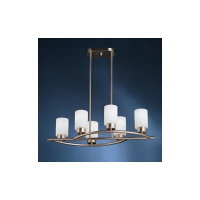 Modena 6 Light Inverted Pendant Product Photo