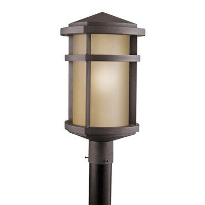 "Kichler Lantana 1 Light 1 Light 10.5"" Outdoor Post Lantern"