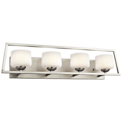 Kalel 4 Light Bath Vanity Light Product Photo