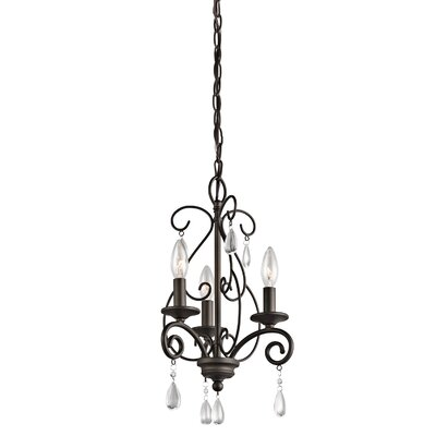 Marcele 3 Light Mini Chandelier Product Photo