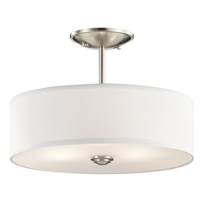 Shailene 3 Light Semi Flush Mount Product Photo