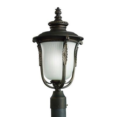 Kichler Luverne 1 Light Outdoor Post Lantern