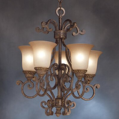 Larissa 5 Light Indoor Chandelette Product Photo