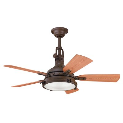 "44"" Hatteras Bay 5 Blade Patio Ceiling Fan Product Photo"