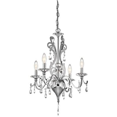 Rizzo 4 Light Mini Chandelier Product Photo